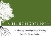 Church Council Training Event 2014