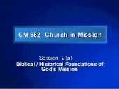 Church in Mission - Session 2 (online)