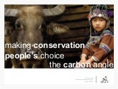Making conservation people's choice...