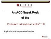 CIC Sneak Peek ACD