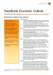 Swedbank Economic Outlook, 2010, Ap...