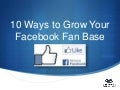 10 Creative Ideas to Increase Your Facebook Fanbase