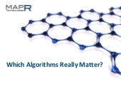 Which Algorithms Really Matter