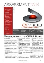 CIMAP Assessment Talk - June 2012