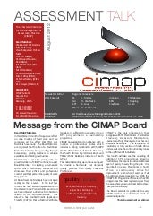 Cimap Assessment Talk - Issue 6 - A...