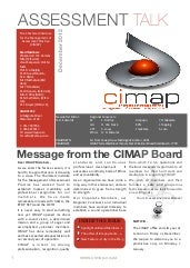 Cimap talk issue 8 - December 2012