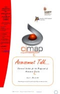CIMAP Talk March2012