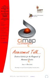 CIMAP Assessment Talk March2012