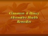 Cinammon & Honey a Recipe for Health