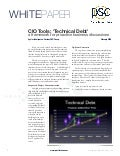 CIO Tools: Technical Debt