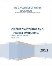 Circuit switching  packet  switching