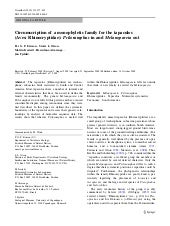 Circumscription of a monophyletic f...