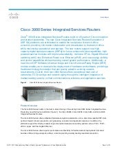 Cisco 3900 series integrated servic...