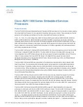 Cisco asr 1000 series embedded serv...