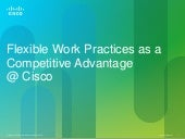 CISCO Flexible Work / Telework Pres...