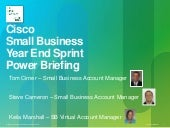 Cisco small business year end sprin...