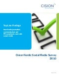 Cision Nordic Social Media Survey 2010