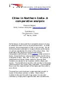 Cities In Northern India  A Comparative Analysis