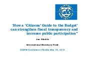 Citizens Budget Guide & results - S...