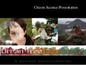 Citizen science presentation