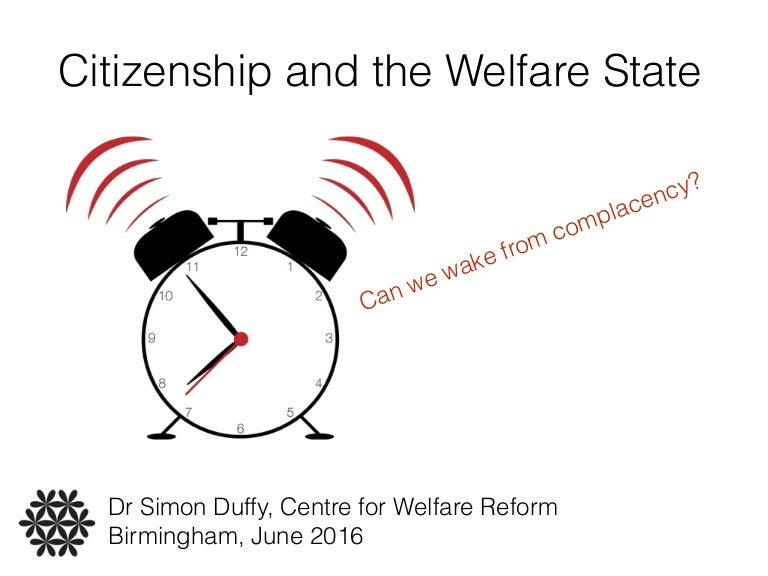 Can someone help me with welfare reform arguments?
