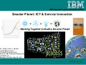 Citris smarter planet ict and servi...
