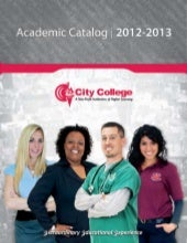 City College Academic Catalog