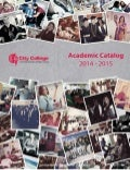 City College Academic Catalog 2014 - 2015