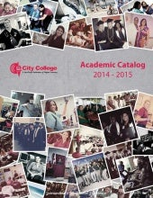 City College Academic Catalog 2014 ...