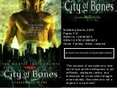 Booktalk Assignment - City of Bones