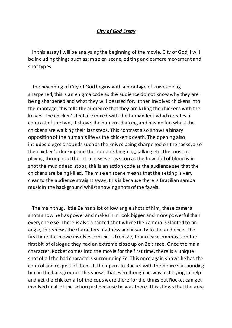 film analysis essay