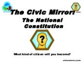 Civic Mirror Constitution