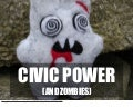 Civic Power & Zombies