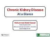 Chronic Kidney Disease (CKD) - At a...
