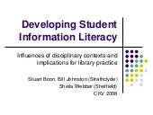 Developing Student Information Lite...