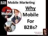 B2B Mobile Marketing: Why Mobile For B2Bs?