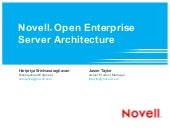 Novell Open Enterprise Server Archi...