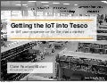 Getting the IoT into Consumers' hands, Claire Rowland at IOT14