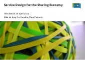 TEDxESADE talk Service Design for the Sharing Economy
