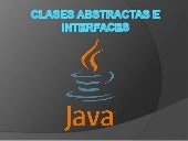 Clases abstractas e interfaces
