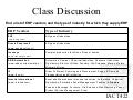 Class Discussion (ERP Vendors)
