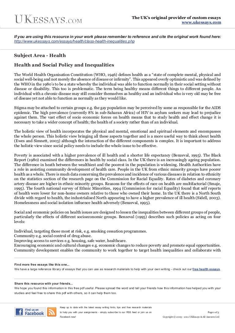 healthy food essay