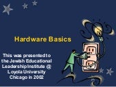 Hardware Basics for Educational Administrators in 2002