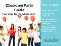 Classroom Party Ideas