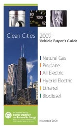 Clean Cities Vehicle Buyer Guide