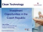 CleanTech in the Czech Republic
