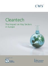 Cleantech Report June2009
