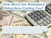 How Much are Workplace Distrac