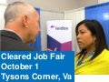 October 1 Cleared Job Fair, Security Clearance Briefings, Resume Review