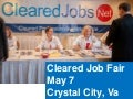 May 7 Cleared Job Fair, Security Clearance Briefings, Resume Review